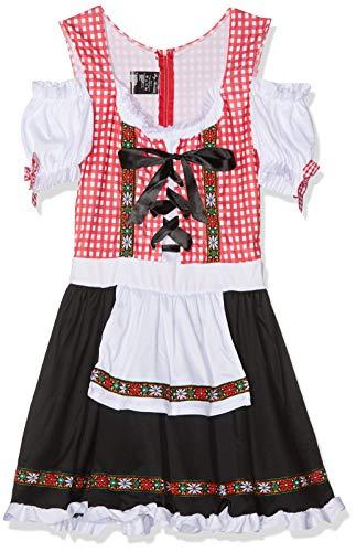 Leg Avenue Womens Beer Garden Babe Oktoberfest Costume, Multi, Medium -