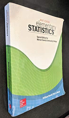 Elementary Statistics, MAT 125/126 Mercer County Community College