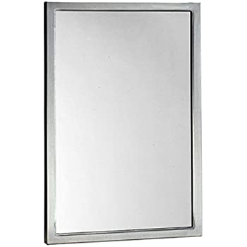 Amazon Com 18 X 30 Beveled Bathroom Mirror Wall Mirror