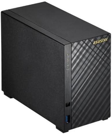 Asustor AS1002T NAS Ethernet Negro Servidor de Almacenamiento - Unidad Raid (Unidad de Disco Duro, Serial ATA II, Serial ATA III, 3.5