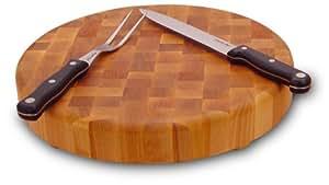 Catskill Craftsmen 14-Inch Round Slab with Feet