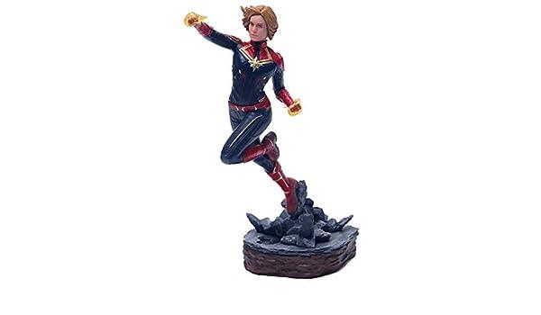 Amazon.com: VIETXD Captain 22-27Cm Man Danvers Statue KoS ...