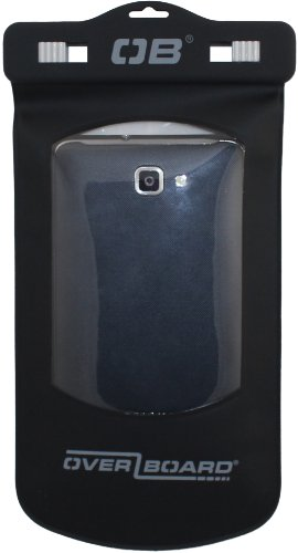OverBoard Large Waterproof Phone Case, Black
