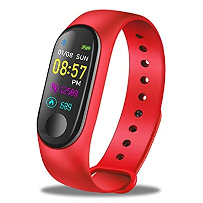 HFXLH Smart Bracelet Heart Rate Blood Pressure Monitor Fitness Tracker Watch Sport Smart Wristband Pedometer Estimated Price £33.98 -