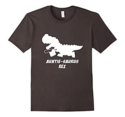 Auntie Saurus Rex Funny Shirts