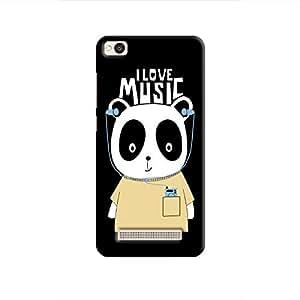 Cover It Up - Music Panda Redmi 4A Hard Case