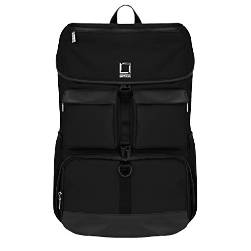 Lencca Logan Backpack for HP 17.3 inch Laptops (Classic Black)