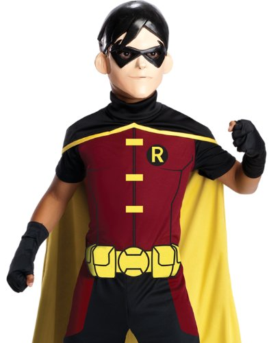 Superboy Costume (Rubie's Costume Young Justice Robin Child Costume, Small)