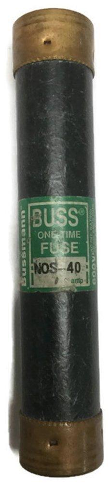 ClASS K5 BOX OF 10 BUSSMAN NOS-40 40A 600VAC