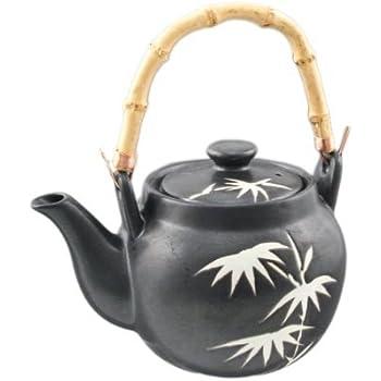 Asian restaurant style stainless steel tea pot