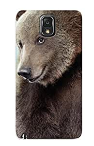 Ideal Trolleyscribe Case Cover For Galaxy Note 3(animals Sad Lonely Bears ), Protective Stylish Case