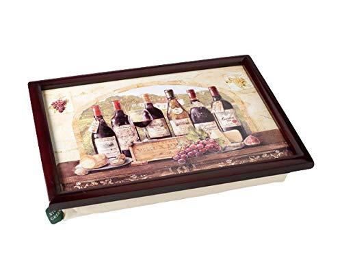 Stow Green Puf Bandeja de cojín. Diseño de Vino de Francia ...