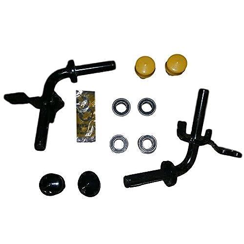 John Deere LA100 series steering spindle kit w/bearings GY22251BLE GY22252BLE