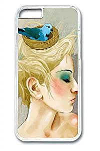 Beautiful Illustrations Girl Slim Soft Cover Diy For SamSung Note 3 Case Cover PC Transparent Cases