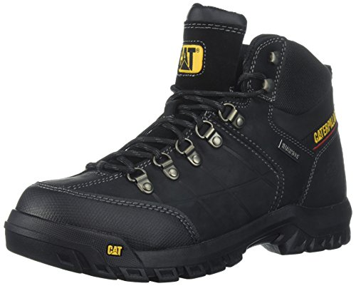 Caterpillar Men's Threshold Waterproof Industrial Boot, Black, 10.5 M US