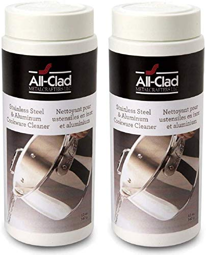 All-Clad 00942 Cookware Cleaner and Polish, 12-Ounce, 2 Pack
