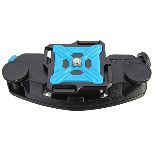 Strong Aluminum Waist Belt Tripod Mount Clip Adapter For GoPro Xiaomi Yi SJ4000 SJ5000 SJcam SLR DSLR Camera