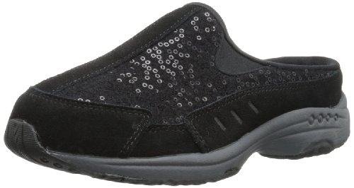 - Easy Spirit Women's Travelwool Mule,Black,6.5 W US