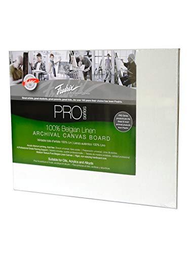 Fredrix Archival Linen Canvas Boards (8 in. x 10 in.) 2 pcs SKU# -