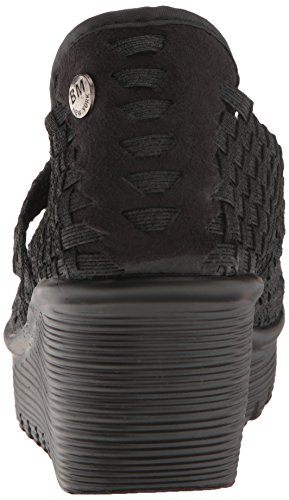 Bernie Mev Women's Cleopatra Wedge Pump Black/Metallic rg2DT