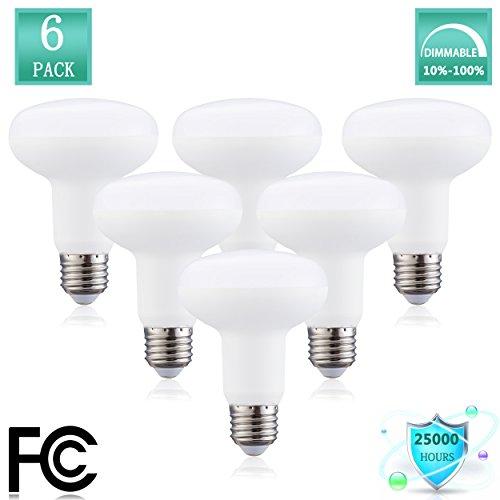 YMZM R30 LED Light Bulb, 12W(Incandescent Lamp 120W Equivalent) R25 Flood Light Bulb, 1200 Lumen, 3000K (Soft White Glow), 120°Beam Angle,Medium Base (E26), Dimmable(Pack of ()