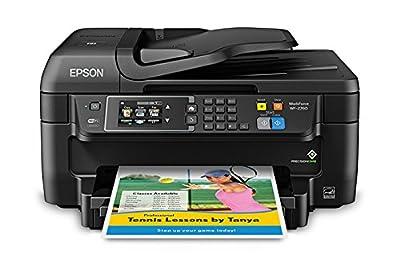 Epson WorkForce WF-2760 All-in-One Printer Fax Copier Printer Scanner w/ Wi-Fi (Certified Refurbished)