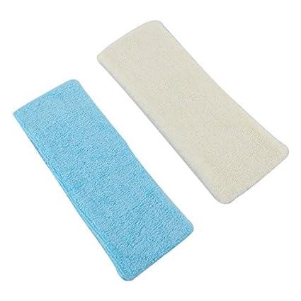 Amazon.com : eDealMax elástica elástico Tela de toalla diadema Deporte 7cm ancho DE 2 PC Azul Amarillo : Sports & Outdoors