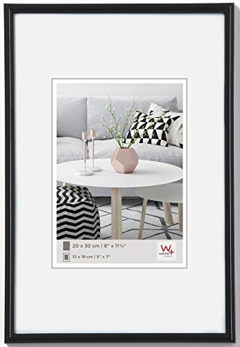 Walther design KV045W New Lifestyle picture frame, 11.75 x 17.75 ...
