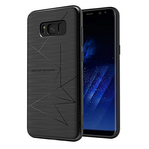 Galaxy S8 Plus Case, Nillkin Magnetic TPU Case [Specially Designed for Nillkin Car Magnetic Wireless Charger] Soft Back Cover for Samsung Galaxy S8 Plus