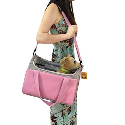 [Uniquorn 2017 New Fashion Simple Pet Out Portable Shoulder Bag Dog Out Handbag Bag Collapsible Pet] (Homemade Penguin Costumes)