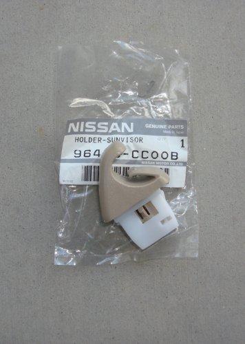 new-2003-2007-oem-nissan-murano-driver-or-passenger-beige-sun-visor-clip