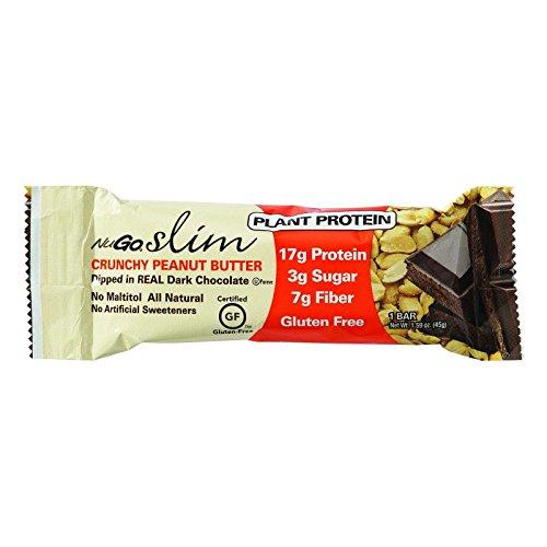 Bar Crunchy - Nugo Nutrition Bar - Slim - Crunchy Peanut Butter - 1.59 Oz Bars - Case Of 12