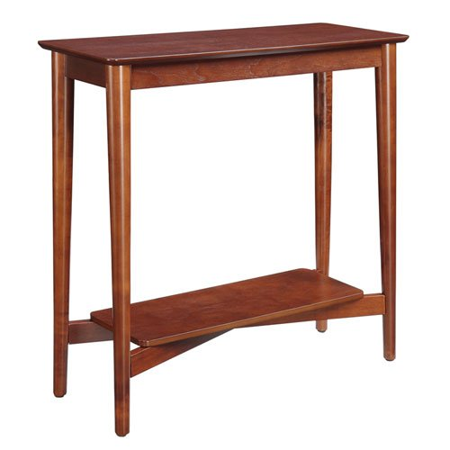 Convenience Concepts Savannah Collection Hall Table, Mahogany