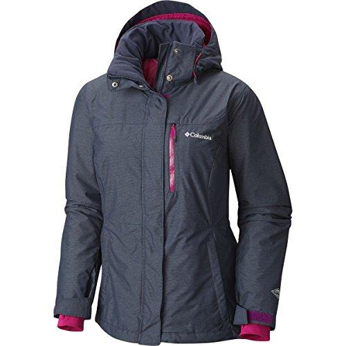 Columbia Women's Alpine Action Omni-Heat Jacket, Nocturnal, Small (Snowboard Goggles Wine)