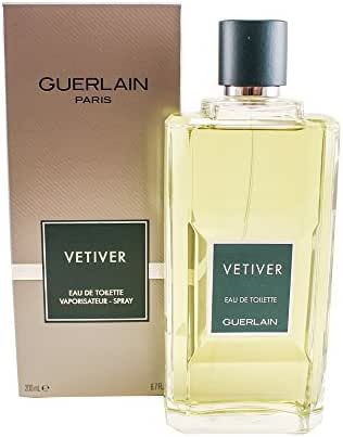 Vetiver Guerlain by Guerlain for Men Eau De Toilette Spray, 6.7 Fluid Ounce ( Pack May Vary )