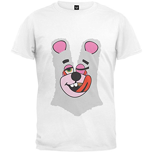 Old Glory Halloween Twerk Bear White Costume T-Shirt Inspired by Miley Cyrus, 2013 VMAs