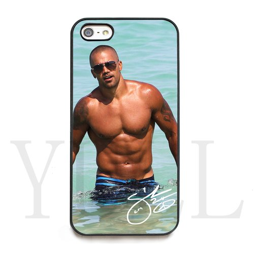 best website bbce6 12c66 Amazon.com: Shemar Moore signed HD image phone cases for iPhone 4/4S ...
