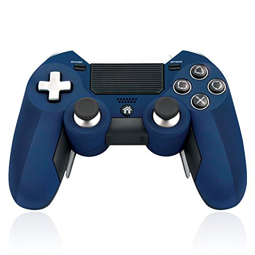 412LY1ZB6OL - [SADES 2017 Newest Version PS4 Controller], PS4 Gamepads Wireless Controller for PlayStation 4 - Blue