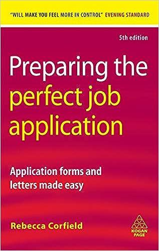 Amazon Com Applicationhelp >> Preparing The Perfect Job Application Application Forms And