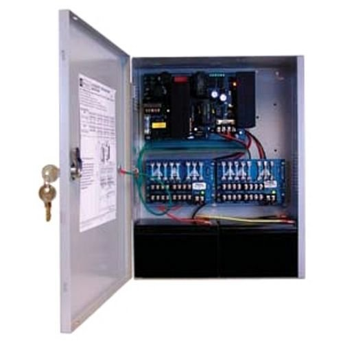 ALTRONIX AL1024ULXPD16CB 8 AMP 24 VOLT DC 16 OUTPUTS WITH CIRCUIT BREAKERS (Breaker 16 Output)