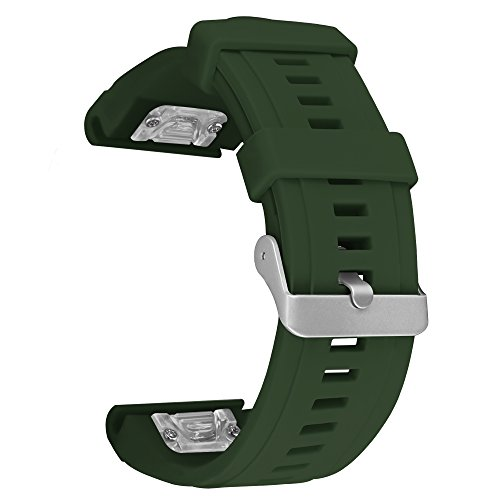 SKYLET Garmin Fenix 5X Bands, Quick Fit Silicone Replacement