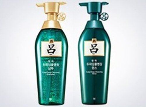 [Ryeo] NEW Chung Ah Mo Shampoo 500ml for Oily Hair with Dandruff + Conditioner 500ml (Best Deep Conditioner For Asian Hair)