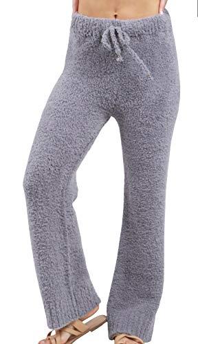 POL Clothing Women's Berber Fleece Cozy Pants