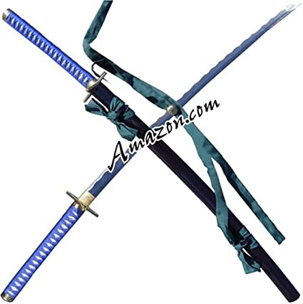 Amazon Com Hanzo Steel Handmade Functional Hitsugaya Hyourinmaru Zanpakuto Toushiro Bleach Sword Martial Arts Swords Sports Outdoors