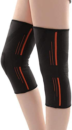 IhDFR 屋外の登山を登るスポーツ膝パッド、膝関節膝パッドヘアボールプロの女性の秋と冬のトレーニングランニング (Color : Style one, Size : L)