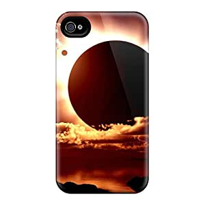 New Arrival Premium 4/4s Case Cover For Iphone (solar Eclipse)