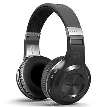 Auricular Bluetooth Bluedio huracán H-turbina negro: Amazon.es: Electrónica