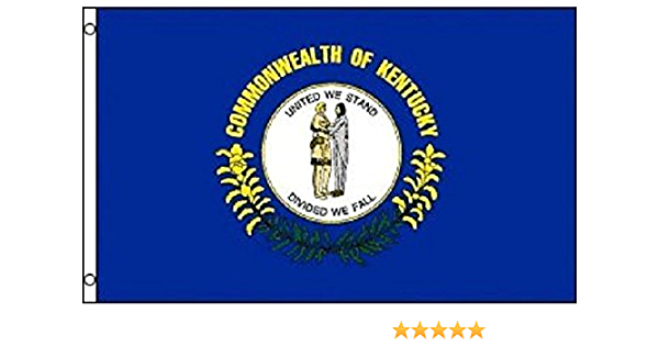 Kentucky Flag KY State Banner Pennant 2x3 foot Indoor Outdoor 24x36 inches New