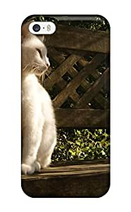 ZippyDoritEduard Iphone 5/5s Hybrid Tpu Case Cover Silicon Bumper Cat