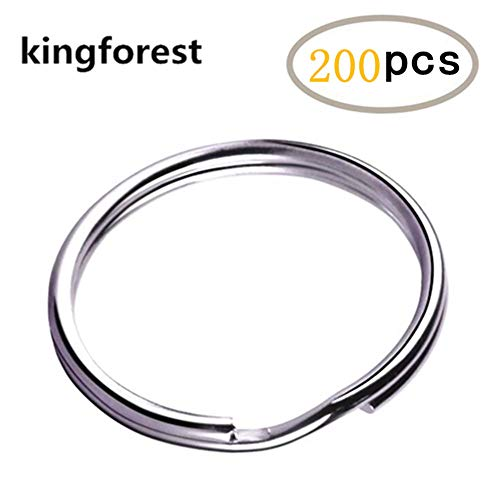 kingforest 200PCS Nickel Plated